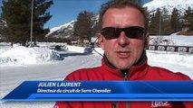 DICI TV - Grande course au circuit de glace de Serre Chevalier