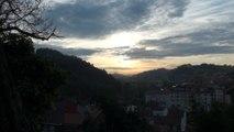 Paisaje: Puesta de Sol 23 Enero en Candás Asturias