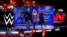 Brie Bella & Alicia Fox vs Charlotte & Becky Lynch - WWE Raw 12/14/15