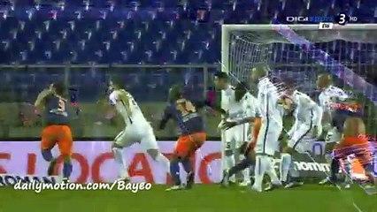 All Goals HD - Montpellier 1-2 Caen- 23-01-2016