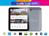 9.7 inch Cube Talk 97 Phone Call 3G Tablet PC IPS 1024x768 8GB Rom 8.0MP Camera MTK8382 Quad Core tablet pc 1.3GHz WCDMA GPS-in Tablet PCs from Computer