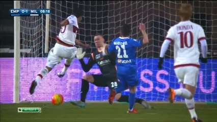 All Goals - Empoli 2-2 AC Milan - 23.01.2016 HD