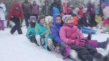 Capitol Hill sledding ban is lifted, hundreds of sledders rejoice