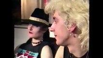 SIOUXSIE & THE BANSHEES – Siouxsie & Budgie i/v ('Pop Elektron' show, Belgian Flemish BRT TV, 20 Dec 1982)