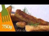 Recette de Bâtonnets de poisson panés maison - 750 Grammes