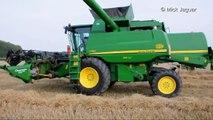 John Deere T560 Agro Service RDS tarwe dorsen