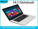 Clamshell Notebook 14.1&#39-&#39- for intel Baytrail Z3735F Quad Core 2GB 32GB Windows 8.1/10 3.7V/10000mAH wifi Bluetooth HDMI Computer-in Tablet PCs from Computer