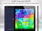7.9  Cube U55gt C8 talk79  MTK8392 Octa Core Tablet WCDMA/GSM Dual Sim 2048*1536 IPS Screen 2GB+16GB 2.0MP+8.0MP Dual Camera-in Tablet PCs from Computer