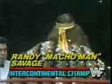 Randy Savage in action   Championship Wrestling March 15th, 1986