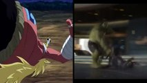 Nwa Anime - Loki & Odz Decimation - Luffy vs Odz (One Piece) & Hulk vs Loki(The Avengers)