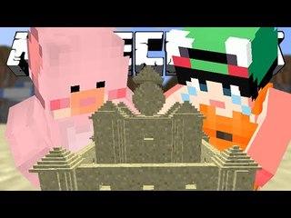 [루태] 문어 괴물과 모래성 만들기! [마인크래프트 모드 스토리 리뷰 '모래성 모드' *단편*] Minecraft The Salty Sunshine Mod
