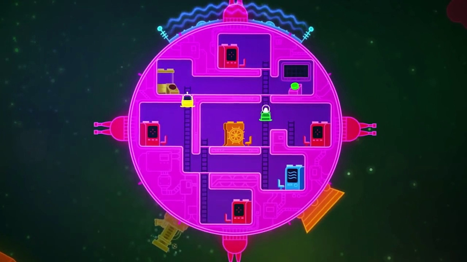 Lovers In A Dangerous Spacetime Release Trailer Ps4 Video