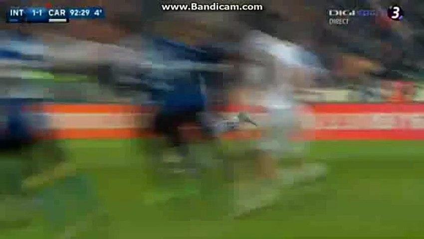 Kevin Lasagna Amazing  Goal HD Inter 1-1 Carpi Seria A