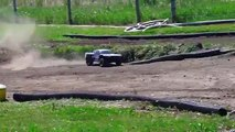 RC ADVENTURES - Racing with Giant RC Trucks - HPI Baja 5T vs Losi 5T