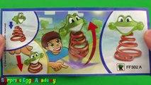 3 Surprise Eggs - Disney Cars, TOTO, Kinder Surprise Eggs