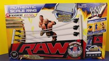 WWE Wrestling Ring Toy Review Barbie Doll Wrestles The Incredible Hulk Doll in SmackDown Ring