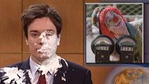 60 Seconds of People Getting Hit in the Face With Pie