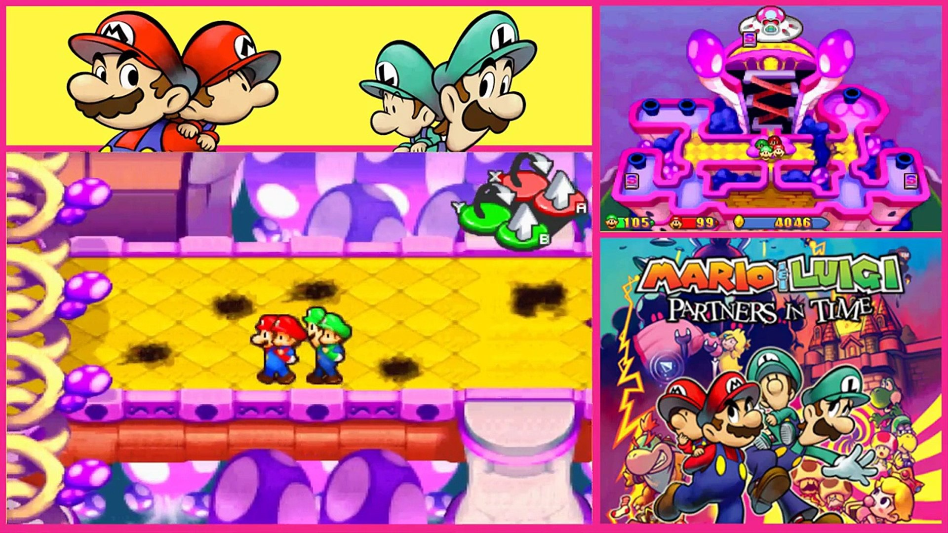 Mario Luigi Partners In Time Gameplay Walkthrough Part 47 Its All Over Ending Credits