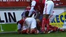 But de Aïssa Mandi contre Saint Etienne
