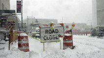 New York shuts down, bans travel due to monster storm