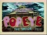 Popeye The Sailor - I Wanna Be A Lifeguard (Colorized)