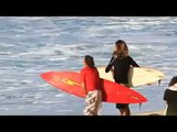Big Surf !! Surf like the Pros..Surf Training Success!