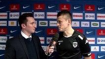 Pierrick Capelle après le match PSG-Angers