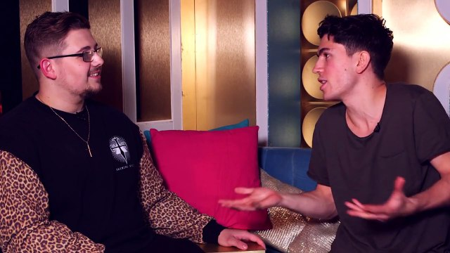 The X Factor Backstage with TalkTalk TV | Ep 41 | Luke Franks and Ché play Heads Up