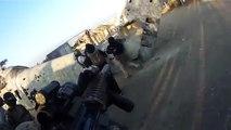 Un abrutis tir dans le dos d'un ado avec son airsoft gun... Débile!