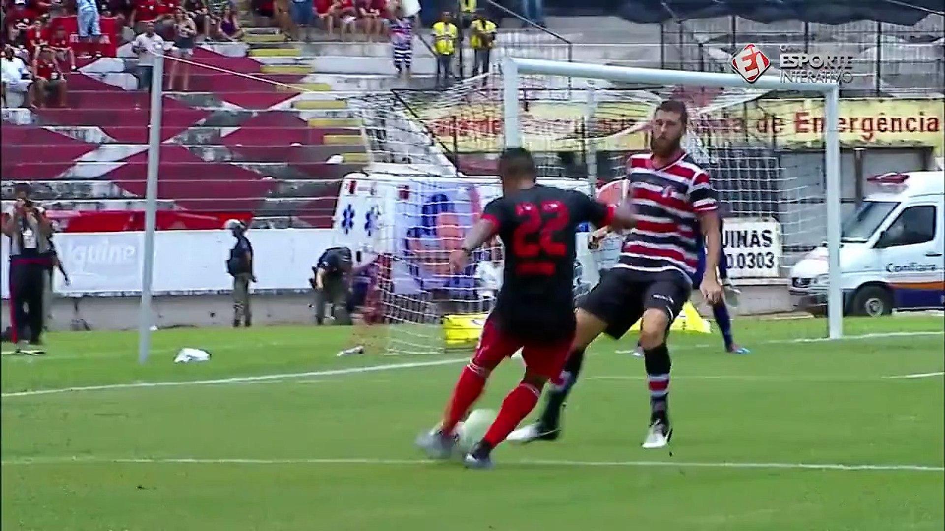 Melhores momentos de Santa Cruz x Flamengo - Taça Chico Science