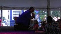 Scott Michael sings 'Sweet Caroline' Elvis Week 2011
