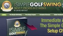 Golf Swing Training Aids - How to Break 80 in Golf - The Simple Golf Swing Review