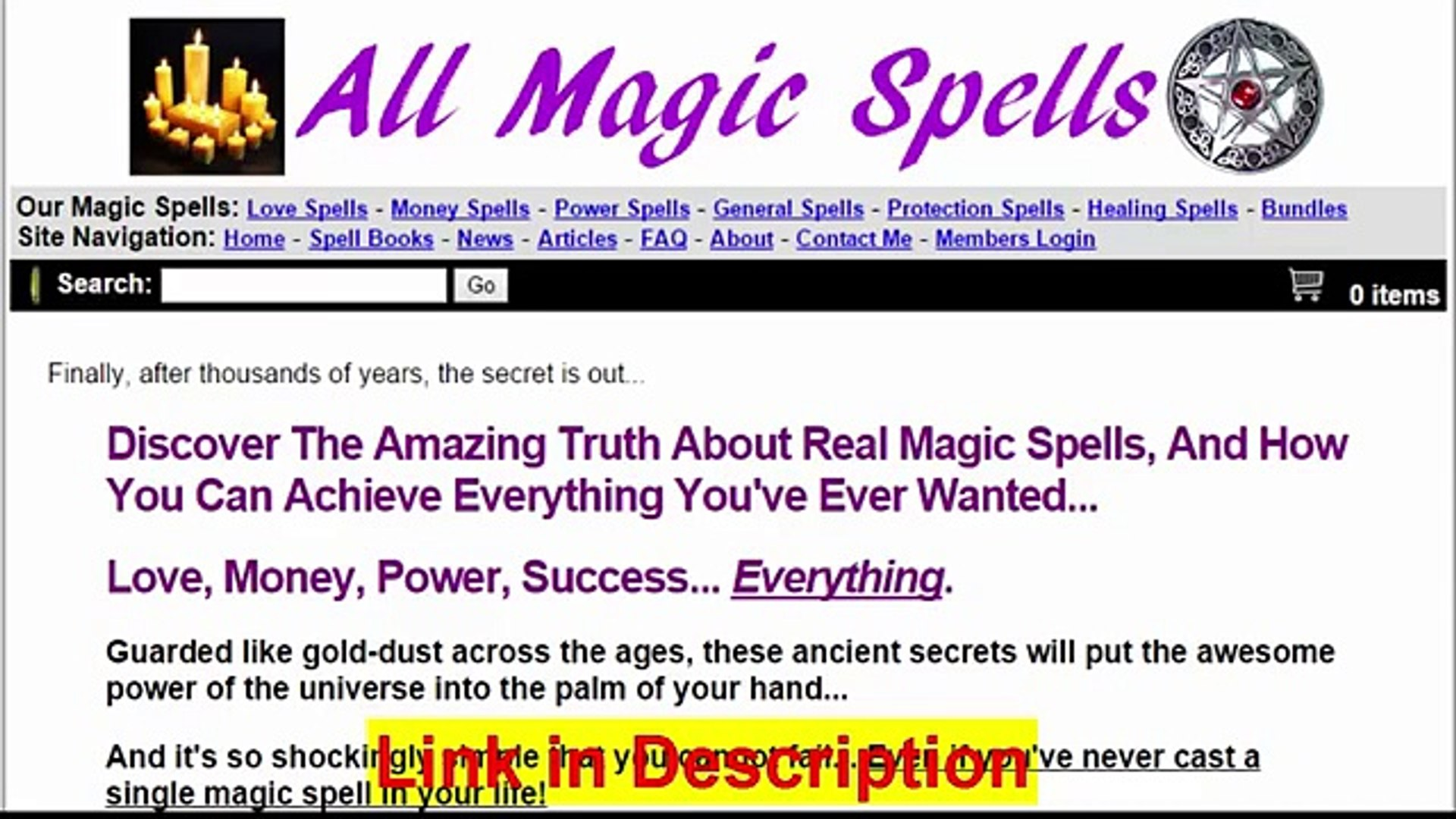 All Magic Spells Review - video dailymotion