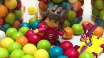 Gumball Surpris Cup Baby Dol Bottle Surpris Toy Surpris Egg Toy Videos