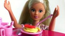 Barbi Dol Barbi Bathtim Barbi Dol Hous Kitchen and Bathroom Toy Videos