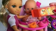 Nenuc Baby Dol Eat Lunc Nancy Dol Toy Food Nenuc Baby Dol Sleep Baby Dol Bathtime