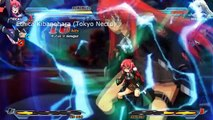 Nitroplus Blasterz Heroines Infinite Duel | Characters Short Gameplay Clips [PS4, PS3]