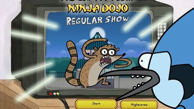 Regular Show - Escape From Ninja Dojo - Regular Show Games