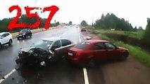Compilación de Coche de los incidentes y Accidentes en la dashcam #257