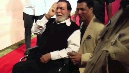 RESPECT ! Kader Khan attends Mumbai Police Show UMANG 2016 on Wheelchair