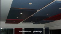 Fabric Acoustic Ceiling Panels  Acoustic Ceiling Panels from Sontext