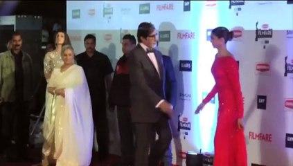 Deepika Padukone at RED CARPET At Filmfare Awards 2016