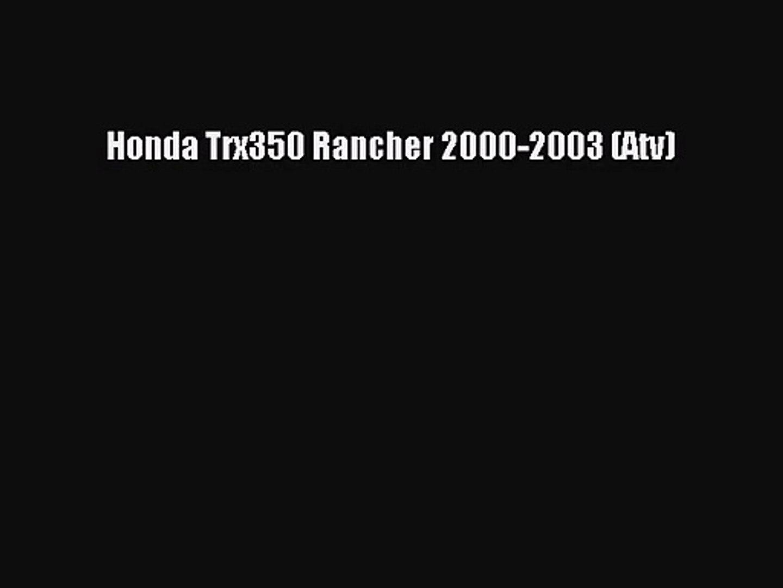 Fuel Petcock Valve for HONDA TRX350 2004-2006 TRX400 2004-2007 OEM 16950-HN7-003