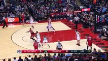 Chris Paul & Kyle Lowry Duel - Clippers vs Raptors - January 24, 2016 - NBA 2015-16 Season