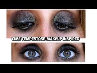 Cime tempestose-makeup inspired