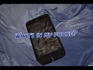 What's in my phone?