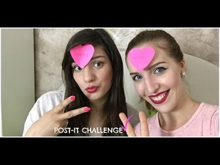 POST-IT Challenge | ft. Blonde's Diaries  | Stefy Arrighi ❤