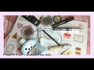 Prodotti Finiti di Makeup.. e non solo!   Stefy Arrighi ❤