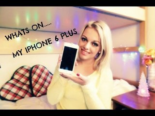 Whats On My Iphone 6 PLUS | Christmas Edition | Bea'sWorld