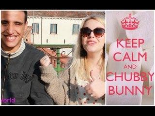 CHUBBY BUNNY CHALLENGE!! | Bea'sWorld